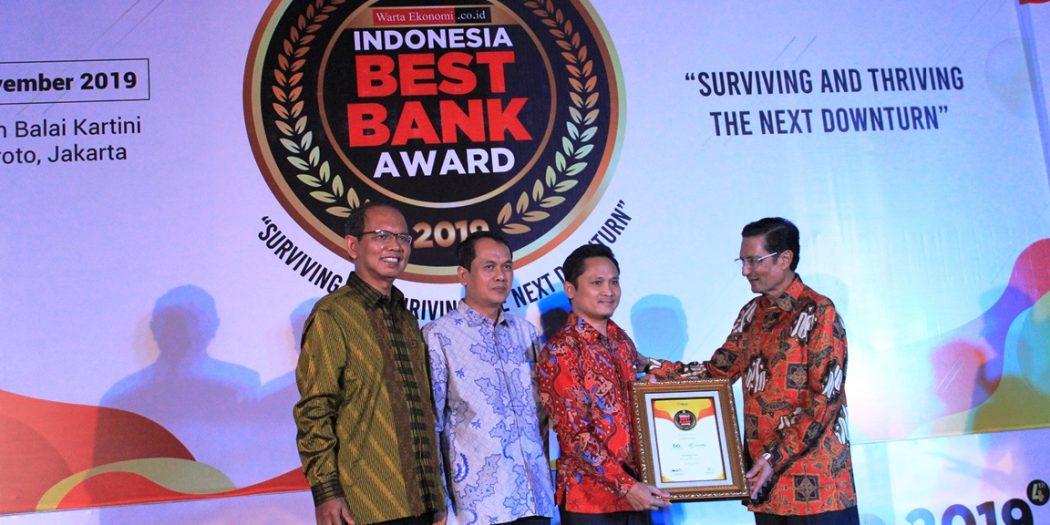 Amar Bank Raih Indonesia Best Bank Award 2019 | Beberin