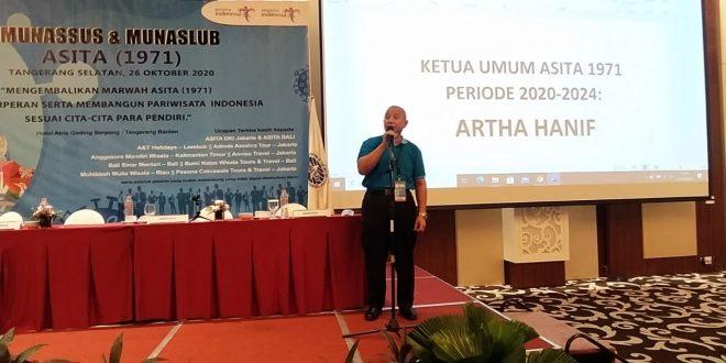 ASITA 1971 Pilih Artha Hanif Sebagai Ketua Umum Periode 2020-2024