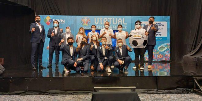 MNC Vision Networks sebagai Broadcast Sponsor of Soccer Channel Tayangkan 51 Pertandingan Lengkap UEFA EURO 2020
